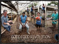Will Allen - Growing Power. Urban agriculture. Good Food Revolution