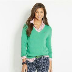 50% OFF TODAY ONLY SALE Vineyard Vines Sweater 50% OFF TODAY ONLY SALE (prices returning to normal at midnight tonight) New, never worn Vineyard Vines Lambswool Sweater! Beautiful blue color and great for all seasons! Feel free to comment below if you have any questions and also make offers and I will work with you! :) Vineyard Vines Sweaters V-Necks
