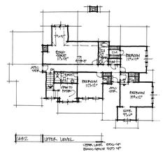 House Plan on the Dr