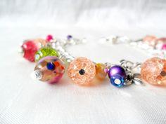 'Springtime' charm bracelet - Sale item! £10.00