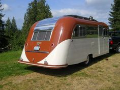 Tin Can Classifieds - Westcraft 3 window trolly top, restored - 1949