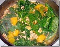 : Utan: Alugbati at Kalabasa (Vine Spinach with Squash) Vegetable Salad, Vegetable Dishes, Malabar Spinach, Cooking Instructions, Filipino Recipes, Okra, Healthy Nutrition, Seaweed Salad, Food Videos