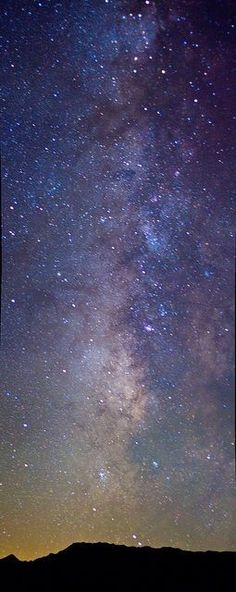 When you spend the night in Death Valley, you can see the entire Milky Way