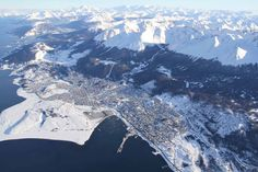 #Ushuaia Desde el un helicóptero. http://daleviaja.com/la-ciudad-mas-austral-del-mundo-2/