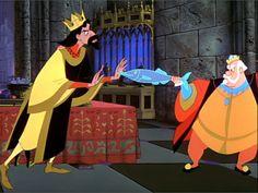 *KING STEFAN & KING HUBERT ~ Sleeping Beauty, 1959