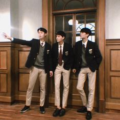 Lee Jae-wook, Kim Young-dae, and Jung Gun-joo Behind the Scenes in Extraordinary You Asian Actors, Korean Actors, Korean Uniform School, 17 Kpop, Kdrama Actors, Korean Artist, Drama Movies, Asian Boys, Boyfriend Material