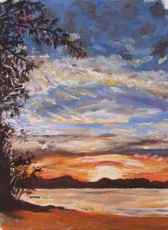 april evening byron bay 2005