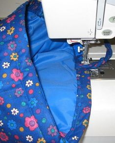 Attrative Handle Option for the Bags and Pocketbooks You Sew: Top-Stitch the Edge to Secure the Handle