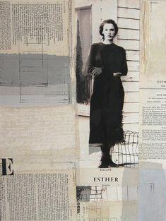 """""""Esther"""" Techniques mixtes 2009 Véronïk Beaucé ART By Adolfo Vásquez Rocca D.Phil"""