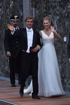 The 2015 royal wedding of Monaco: Beatrice Borromeo weds Pierre Casiraghi - Vogue Australia