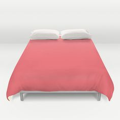 Coral Duvet Cover