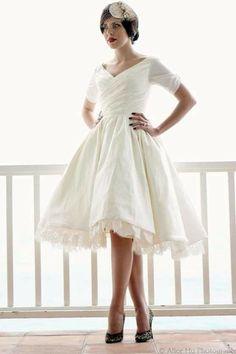 short wedding dress!!!