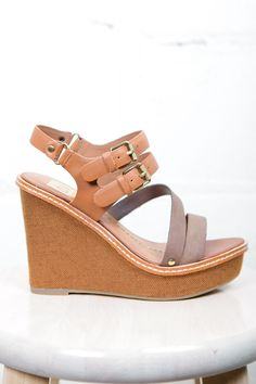 Jobin Wedge. Perfect for summer!