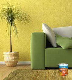 Recuerda limpiar la pared antes de aplicar cualquiera de los 1400 colores que te ofrece #Vinimex. #ProductosComex #Comex #Deco #Home #Ideas #DIY