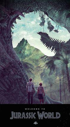 Jurassic World by Janee Meadows
