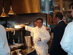 Emeril Lagasse at his resturant in Miami
