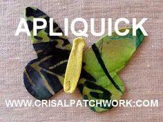 Lynette Anderson Demonstrates Glue Stick Needleturn using Apliquick Tools - YouTube