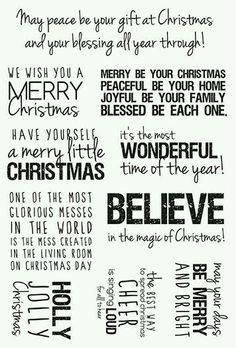 Merry Christmas quotes and wishes can brighten your loved ones. Feel free to select the best Merry Christmas Wishes and Quotes. May God b Christmas Card Verses, Christmas Sentiments, Christmas Words, Card Sentiments, Christmas Pictures, Xmas Cards, Christmas Greetings, Christmas Holidays, Christmas Ideas