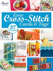 Easy Cross-Stitch Cards & Tags - Electronic Download