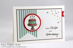 Juni 25, 2015 Fine Paper Arts: Stampin' up! Endless Birthday Wishes IMG_7209w