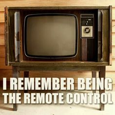 And we only had 3 channels!