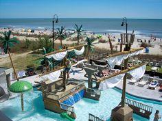 Shipwreck Lagoon pool. Fun for kids and adults!