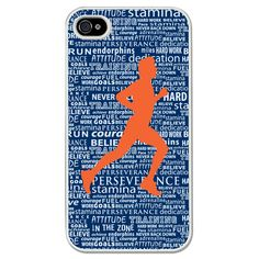 Running iPhone Case Inspirational Words Male | Running iPhone Case | Running Galaxy S3 Phone Case