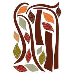 Find it at the Foundary - Ethnic Tree Stickers - X-Large