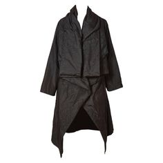 Shamask Quilted Evening Coat | From a collection of rare vintage coats and outerwear at https://www.1stdibs.com/fashion/clothing/coats-outerwear/