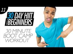 30 Min. Beginners Body Boot Camp Workout for Weight Loss | Beginner HIIT #11 - YouTube