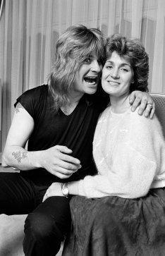 Ozzy & Sharon Osbourne in 1982