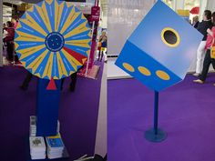 The BPMA stand gets my best in show award because it was appropriately engaging and the charming ladies manning the stand successfully collared me to enter their wheel of fortune. I was chuffed to win some mini Smarties packs – a great pick me up at a moment when I really needed it!