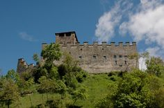 Zumelle Castle, the only existing castle of the Belluno area. The structure was a military defense perched on a cliff, showing off its watchtower which is 36 m high. http://www.veneto.to/dove-andare-dettaglio?uuid=14ad78ff-26b8-4462-a1b3-2d8c3e72494e&lang=en