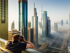 no need for a time machine when you can just go to Dubai!
