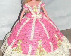 Crochet poupée Barbie Pattern - #677 Couturier ORIGINAL #5