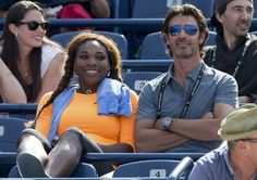 Aug 6    16X Slam Champion, World #1 Serena Williams & Coach Patrick Mouratoglou were enjoying being spectators before sister Venus' 1st round 6-0, 4-6, 2-6 loss at the 2013 Rogers Cup to Kirsten Flipkens. <3 #TeamWilliams
