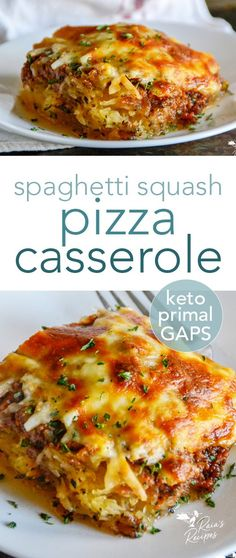 Gluten Free Recipes For Dinner, Healthy Low Carb Recipes, Primal Recipes, Real Food Recipes, Vegetarian Recipes, Cooking Recipes, Vegetarian Spaghetti Squash Recipes, Clean Recipes, Easy Recipes