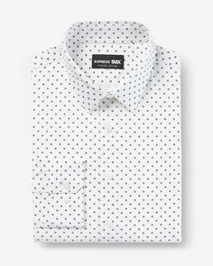 Classic Geo Print Stretch 1MX Dress Shirt