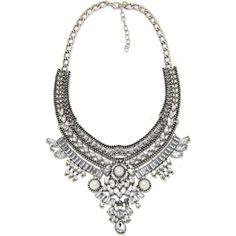 Women-Pendant-Chain-Infinity-Choker-Chunky-Statement-Bib-Necklace-Jewelry-Charm