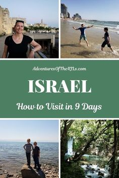 How to Visit Israel in 9 Days! Have you ever thought about visiting Israel with kids, but didn't want to go on a big bus tour? Did you chicken out when family or friends shared news reports? Read about our independent adventures as we take an international road trip with kids through Israel! What an amazing travel destination! Historical travel, cultural travel, religious travel, lots of family travel fun! #adventuresofthe4jls #travel #israel #middleeast #asia #itinerary #roadtrip Cool Places To Visit, Places To Travel, Travel Destinations, Travel With Kids, Family Travel, Group Travel, Basilica Of The Annunciation, Travel Guides, Travel Tips
