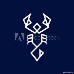 simple monoline scorpion logo icon vector template - Buy this stock vector and explore similar vectors at Adobe Stock Scorpion, Vectors, Adobe, Templates, Tattoo, Explore, Logo, Simple, Design