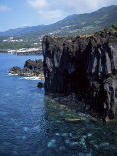 Volcanic Coastline ~ Island of Sao Jorge, Azores, Portugal