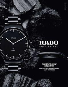 Rado Switzerland Watch Advertising