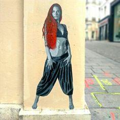 Artists ender - street art paris 2 le sentier - juin 2015, rue des petits carreaux