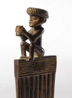 Chokwe Figural Comb, Angola Height: 5 3/4 in (14.6 cm)