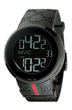 fef6d1caf97e6 Gucci Digital Watch, 44mm gifters.com digital watches for men Gucci Watches  For Men