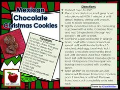 National Cookie Day Recipe.  #kellysclassroom