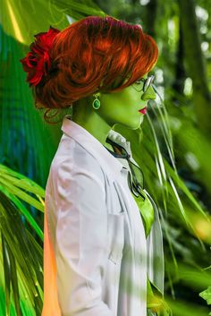 Doctor Pamela Lillian Isley by Afemera