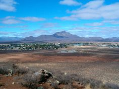 Small town of Calvinia, Northern Cape, South Africa
