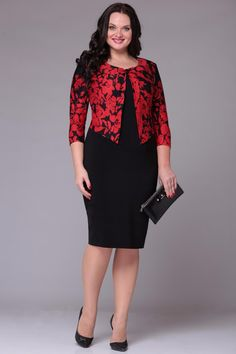 Black and red dress Juanta 2222 Office Dresses For Women, Office Outfits Women, Elegant Dresses, Casual Dresses, Formal Dresses, Indian Designer Outfits, Designer Dresses, African Fashion Dresses, Fashion Outfits